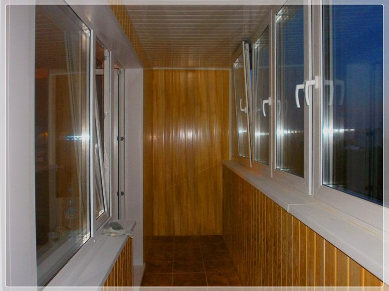 Внутренняя отделка балконов и лоджий в могилеве.